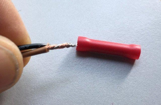 Autoskope selbst montiert Kabel gut miteinander verdrehen