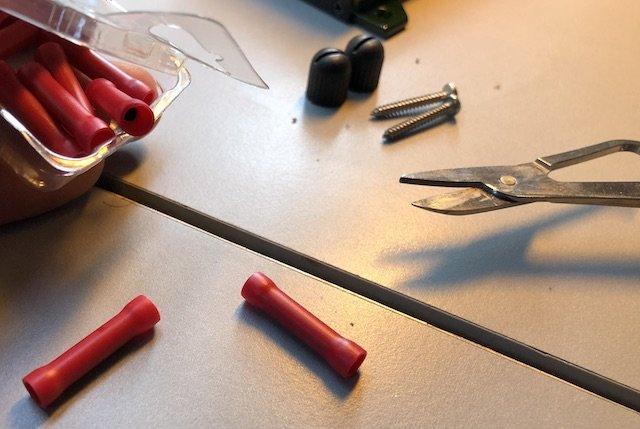 Empfehlung Autoskope Kabelschuhe mit Schrumpfschlauch verwenden
