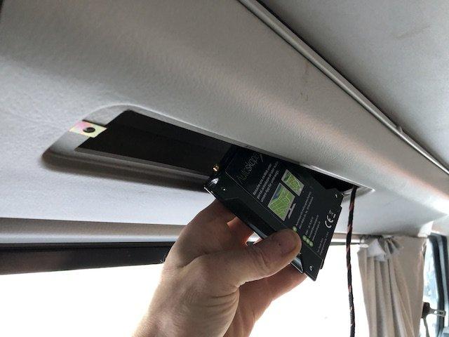 Ortung im VW Bus gut verstecken