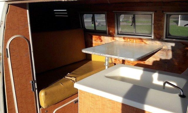 VW Bus T1 Transporter Camper Ausstattung nachgeruestet