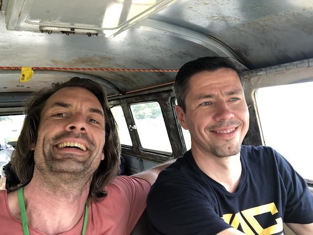 VW Bus T1 fahren macht Spass