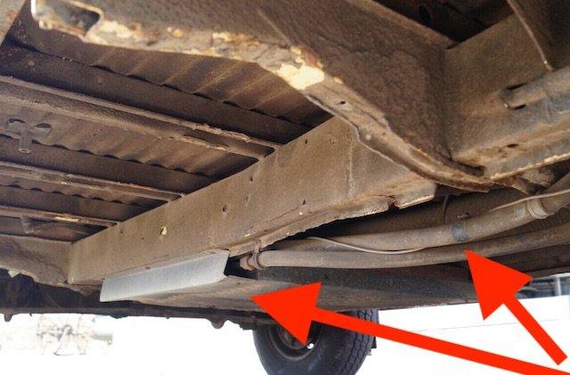 VW Bus T2 Unterboden Kaufempfehlung gut erhalten