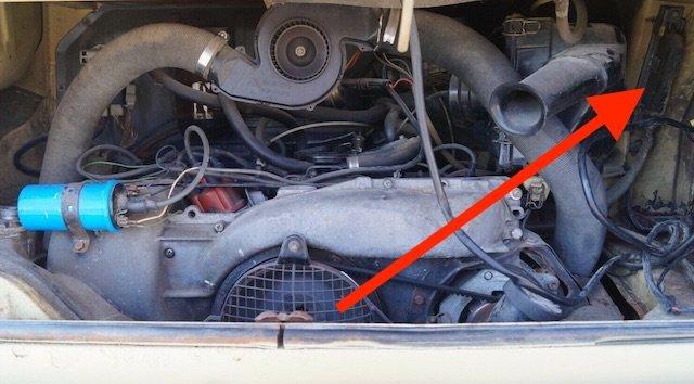 VW Bus T2 mit Typ 4 Motor Einspritzer