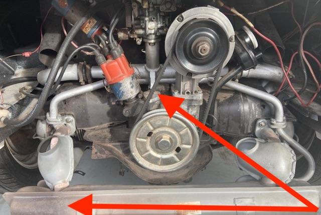 VW Bus T1 Motor erkennen Merkmale