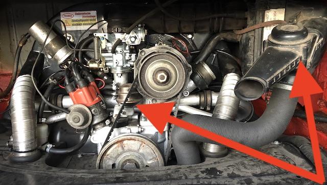 Vw Bus T2 1.6 ltr Boxer Motor Baujahr 1978
