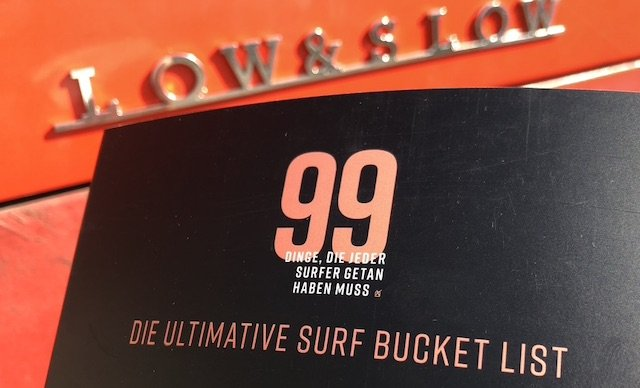 copyright 99 Dinge die ein Surfer getan haben muss Buch Melanie und Stephan 2020 Juli