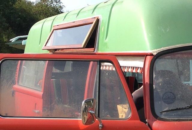 Dachfenster anfertigen VW Bus T2