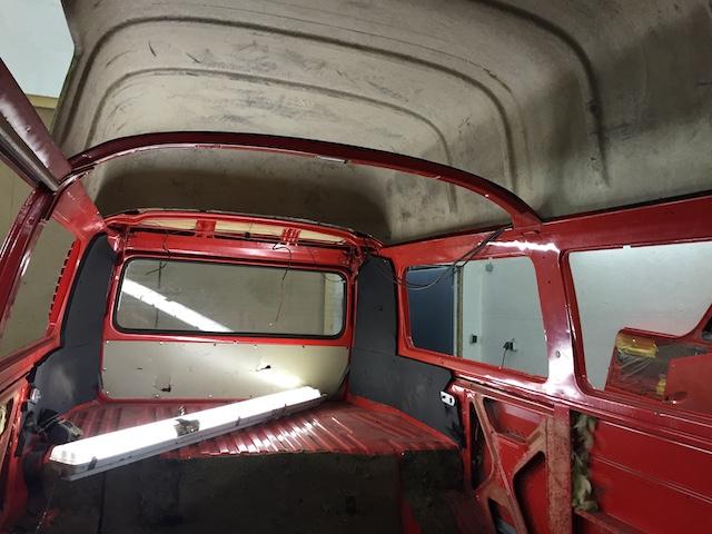 Dachstrebe VW Bus T2 HochDach anpassen