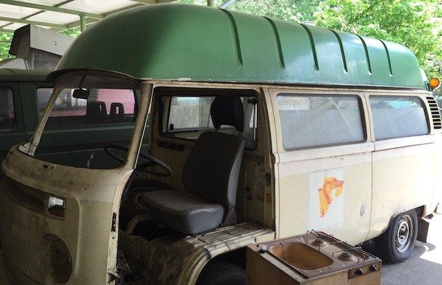 HochDach VW Bus T2 Eigenbau
