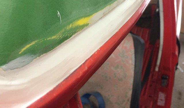 HochDach montieren mit Klebedichtmasse Marine Salzwasser UV beständig