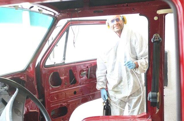 BusChecker konserviert mit Mike Sanders Empfehlung VW Bus
