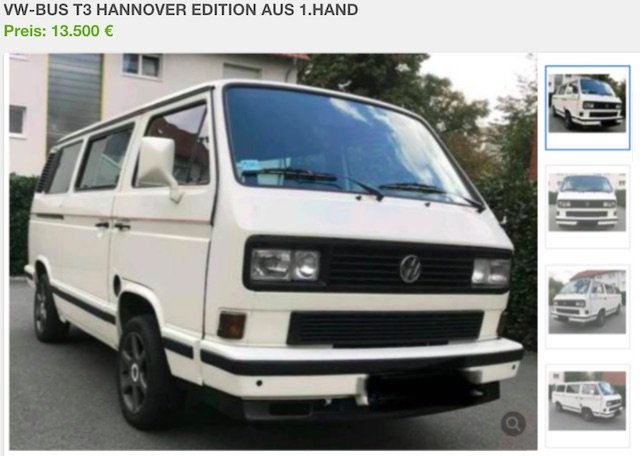 Inserat VW Bus Multivan T3 Turbodiesel Tipps zum Kauf