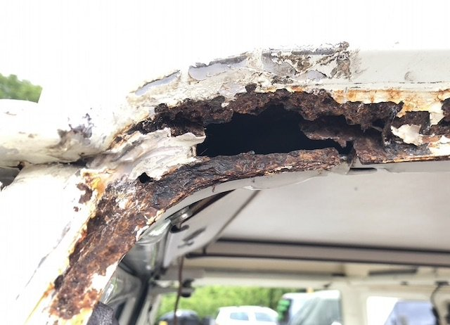 Rost Frontscheibe Westfalia Camper VW Bus T3 Problemstellen