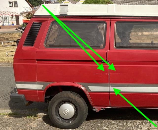 Beulen im VW Bus lassen hat der BusChecker Sie noch alle
