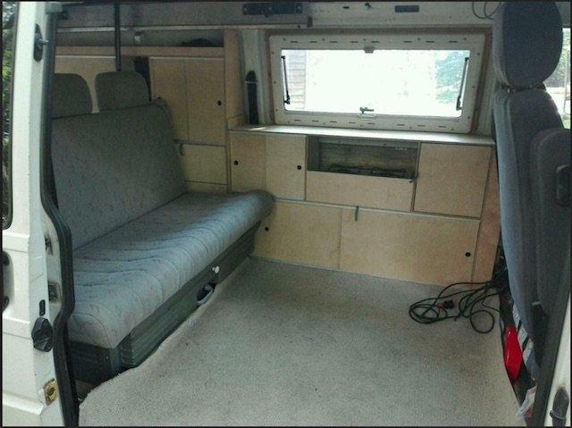Camper Ausbau selbst gemacht VW Bus VANLIFE