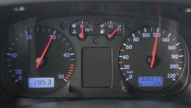 Reisegeschwindigkeit VW Bus T4 Syncro Erfahrungen