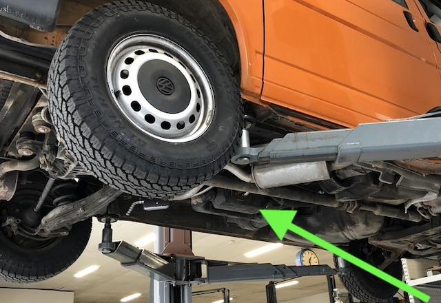 Umluftheizung Standheizung VW Bus T4 Syncro Wasserdurchfahrten