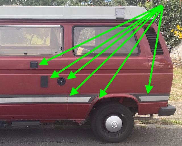 VW Bus T3 Lackierung besser nicht machen