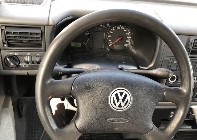 VW Bus T4 Lenkrad abgegriffen neu Alternative Lederlenkrad