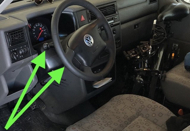 VW Bus T4 Syncro Tempomat nachruesten