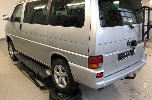 Verschraenkungstest DEKRA Rad Reifen Kombination aendern VW Bus Syncro Erfahrungen BusChecker