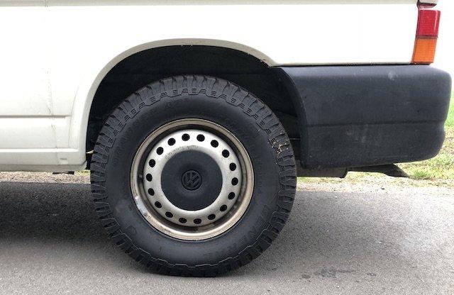welchen Reifen montieren VW Bus T4
