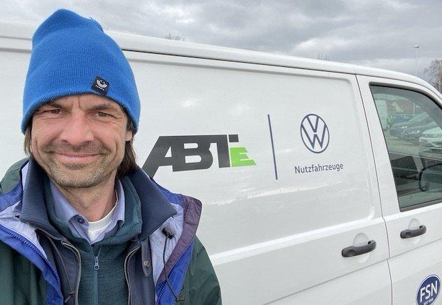 ABT tuning Elektrobus VW T6