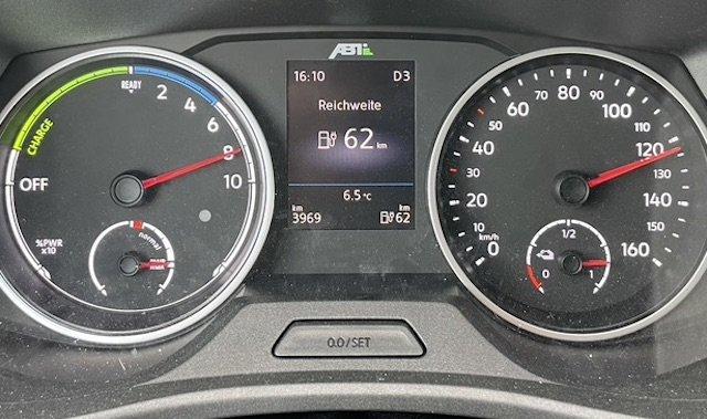 Höchstgeschwindigkeit VW Bus T6 Abt Elektromobil