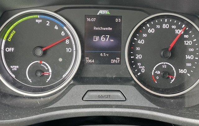 Reisegeschwindigkeit VW Bus T6 Elektro Erfahrungen