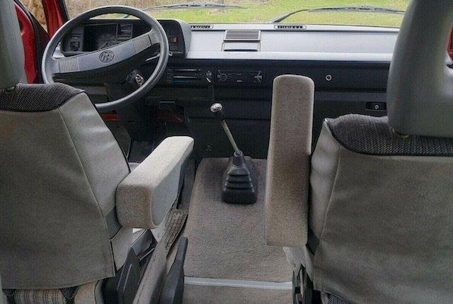 Armaturenbrett VW Bus T3 ohne Löcher