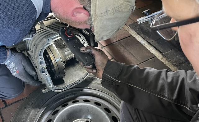 Getriebeschaden Fehlersuche VW Bus T3
