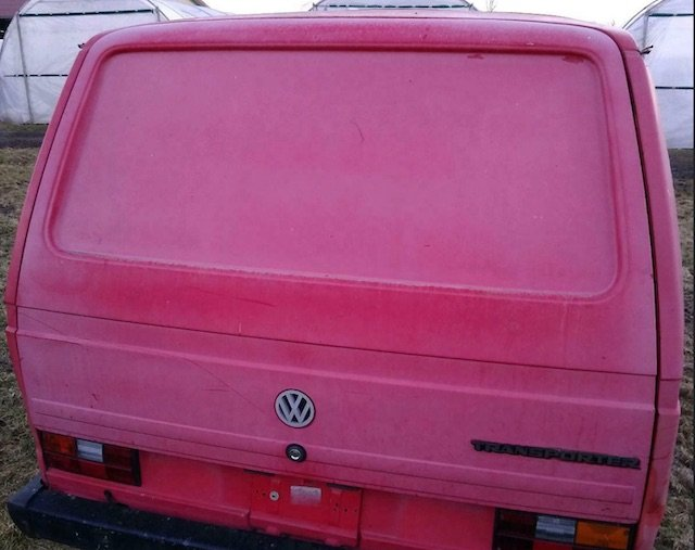 Heckklappe VW Bus T3 gebraucht kaufen