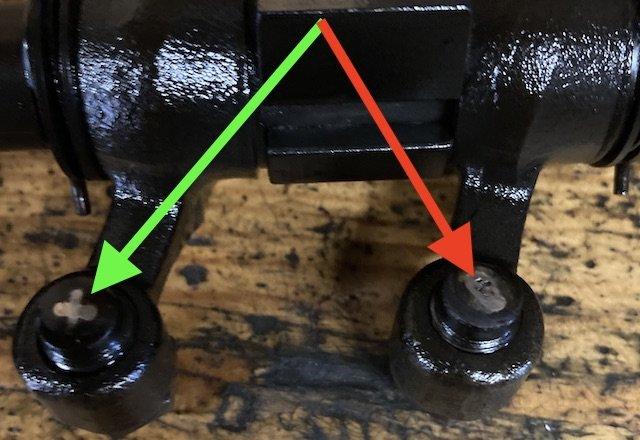 Kipphebel WBX Boxer Benziner Oberflächenvergütung verschlissen