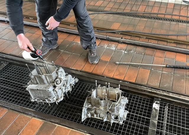 T3 Motor WBX zerlegen reinigen Motorwäsche