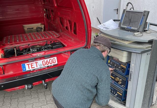 VAG Tester Turm Diagnose VW Bus T3
