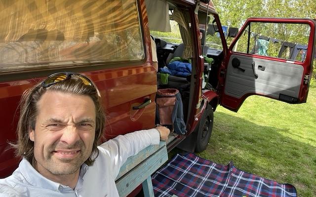 VW Bus T3 gut erhalten fahren is wie wennste fliechst