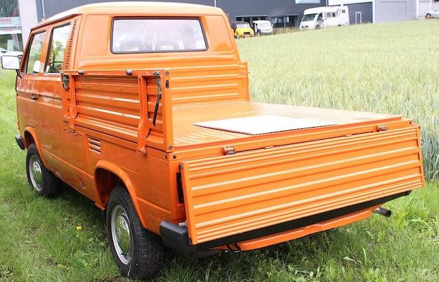 VW Bus T3 Doppelkabine frisch lackiert Schnäppchen