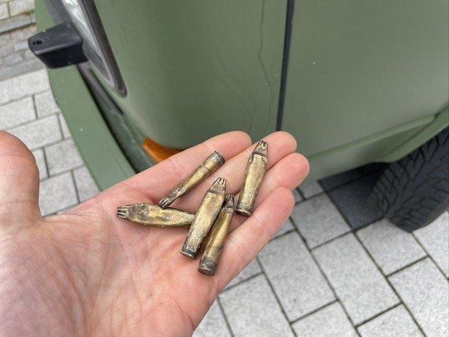 Patronenhülsen VW Bus Lettland