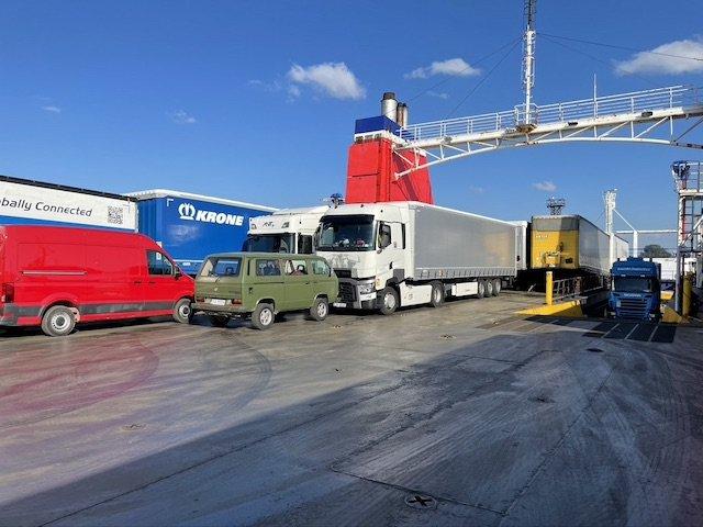 VW Bus Skandinavien kaufen Import Fähre