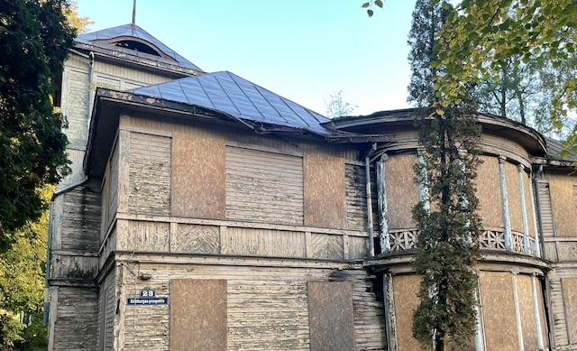 verfallene Villen Holzbauweise Jurmala Lettland